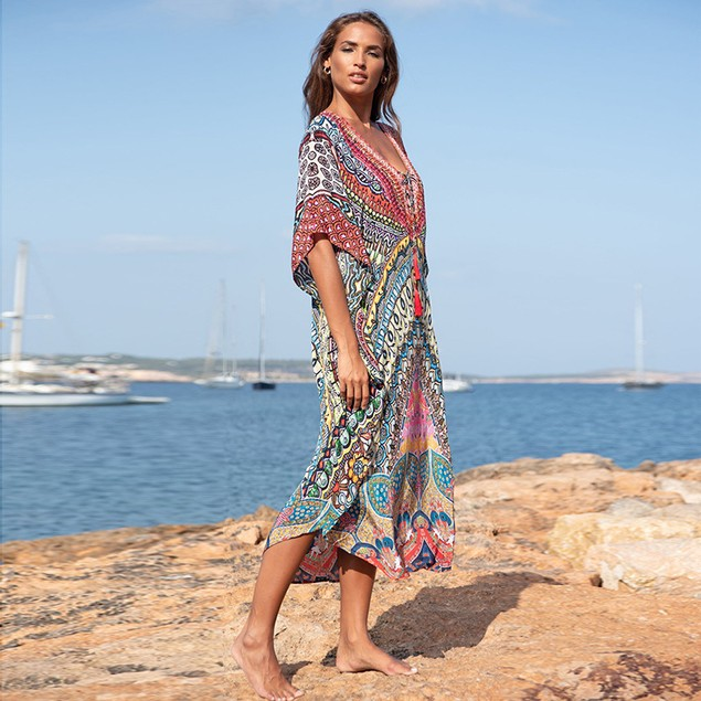 Oversized Plus Size Cover- Up Dress