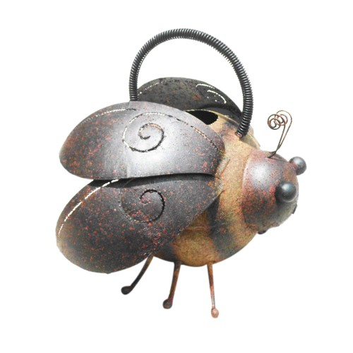 D-Art collection Home Accent Iron Bee Watering Can