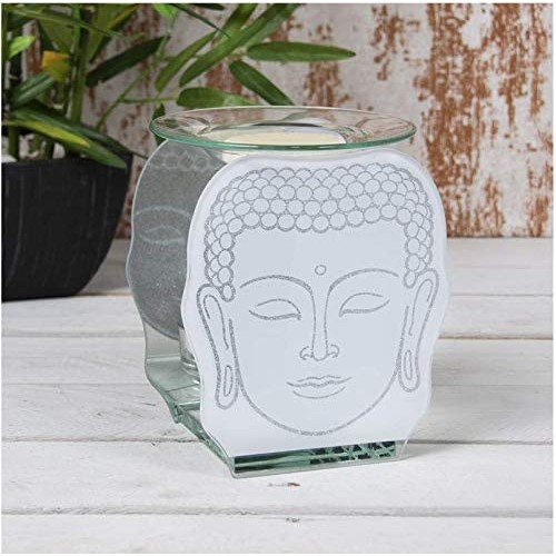 Glass Buddha Wax Oil Warmer By Lesser and Pavey