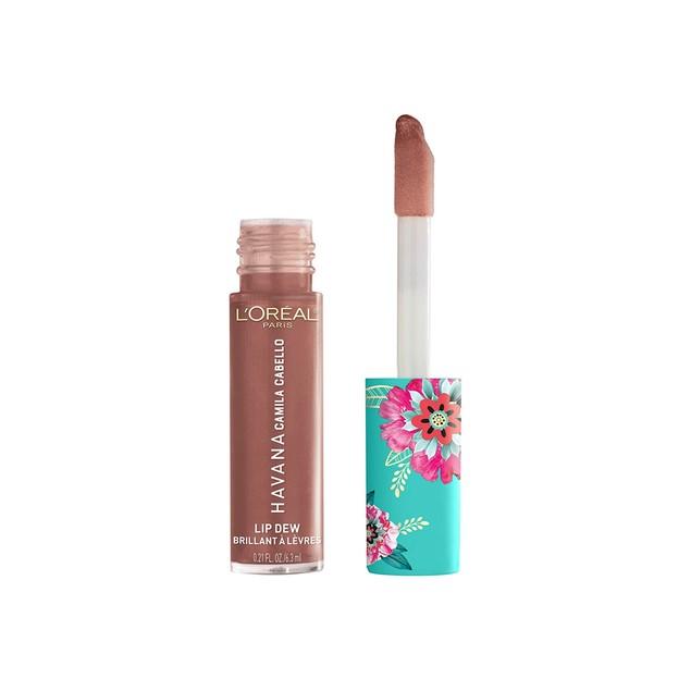 L'Oreal Paris Camilla Cabello Havana Collection Lip Dew Lip Gloss, Desnudo