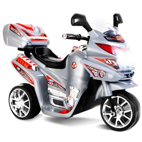 Costway 3 Wheel Kids Ride On 6V Battery Powered Motorcycle