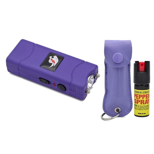 Self Defense Stun Gun and Pepper Spray Combo