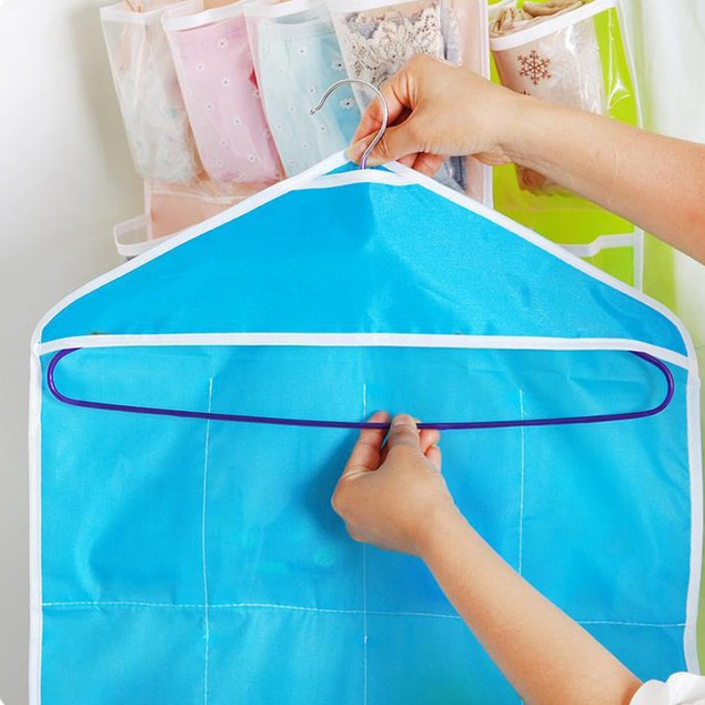Wall-mounted Storage Bag With 16 Compartments
