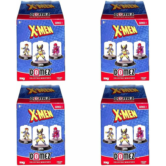 Domez Collectible Miniatures Zag X-Men Marvel Series 1 Blind Pack, 1 Count