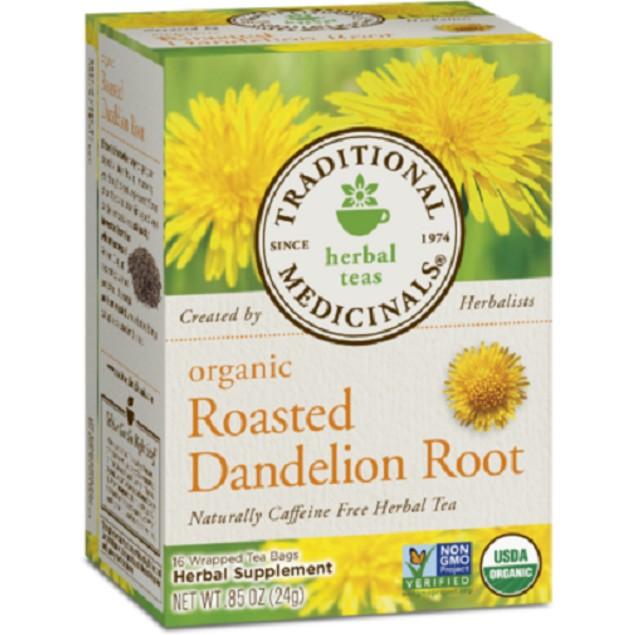 Traditional Medicinals Tea Organic Roasted Dandelion Root