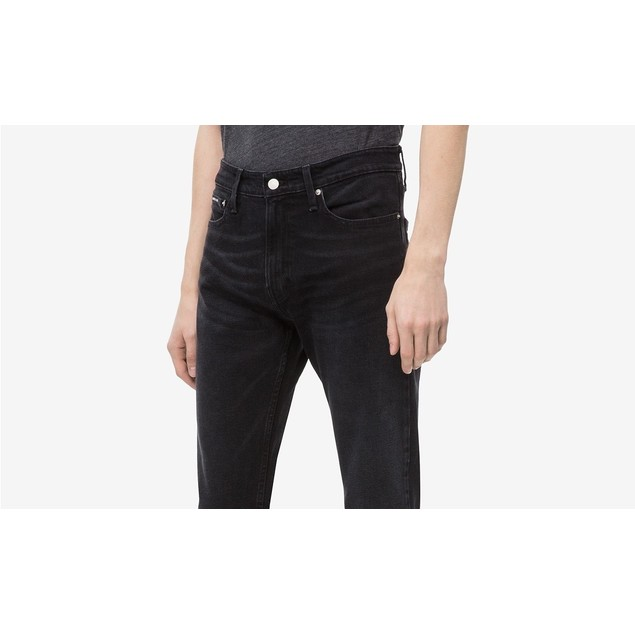 Calvin Klein Men's Jeans Athletic Tapered Fit Black Size 33X32