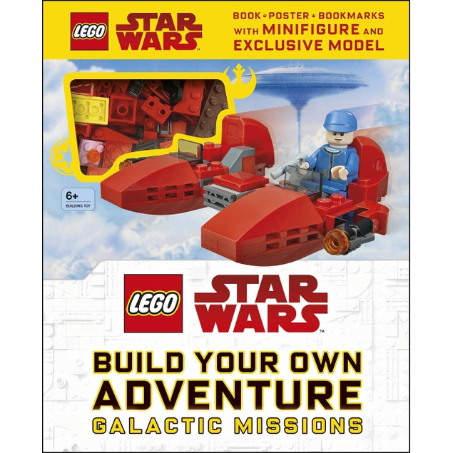 LEGO Star Wars Build Your Own Adventure Book and Brick Set