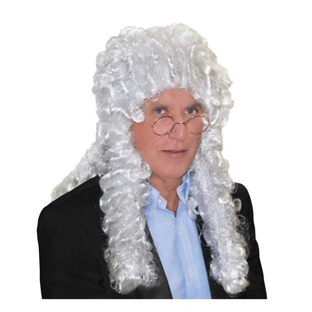 White Judge Wig