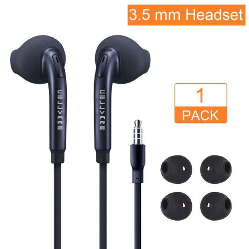 OEM Stereo Earphones with Microphone, Volume Control & Ear Gels