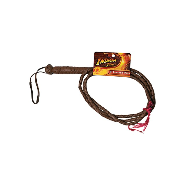 Indiana Jones 6' Leather Whip