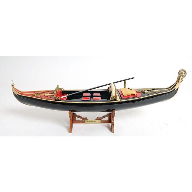 Old Modern Handicrafts Venetian Gondola Model