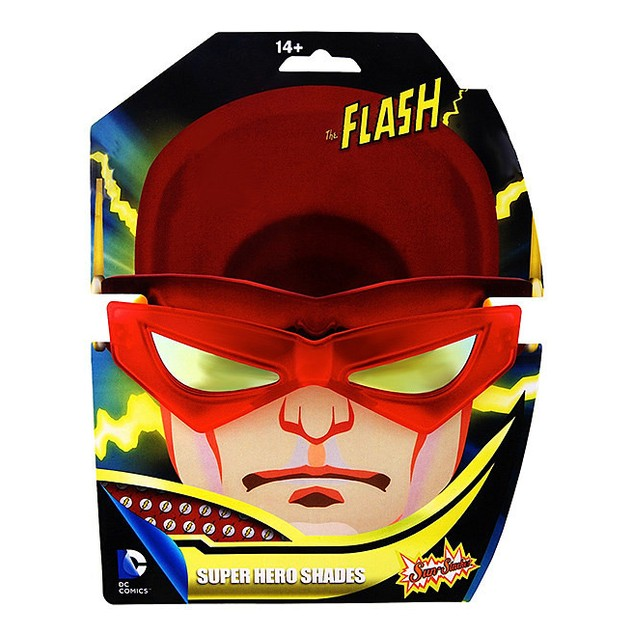 Flash Sun-Staches DC Comics Barry Allen Central City Officially Licensed