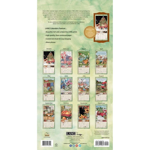 Bountiful Blessings Vertical Wall Calendar, Vertical Wall Calendars by Cale