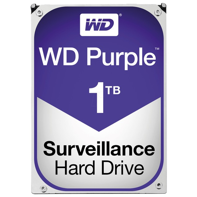 WD Purple Surveillance Hard Drive