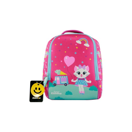 Smilykiddos Preschool Backpack Pink