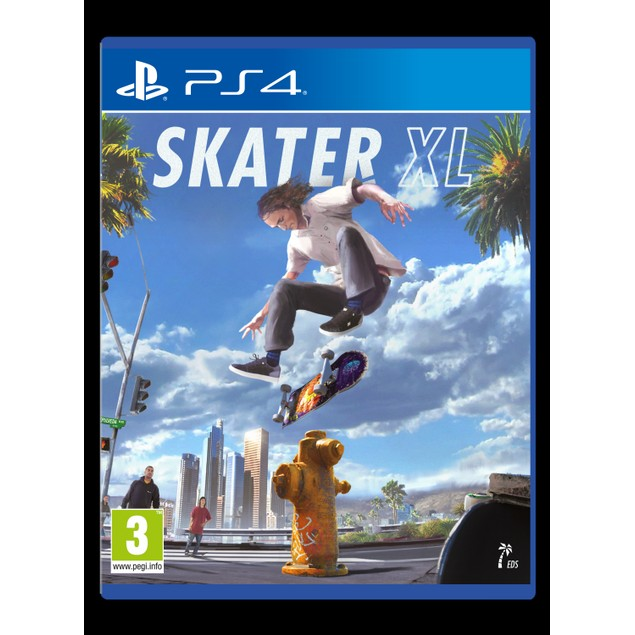Skater XL PS4 Game