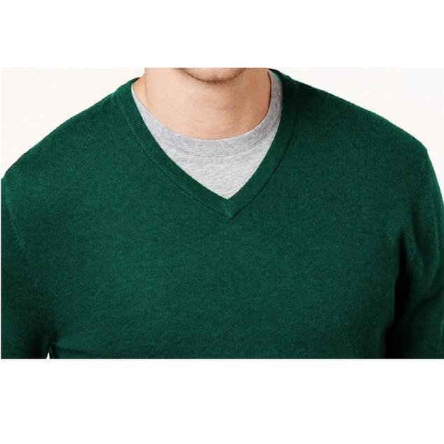 Alfani Men's V-Neck Sweater Cape Verde Size Extra Large