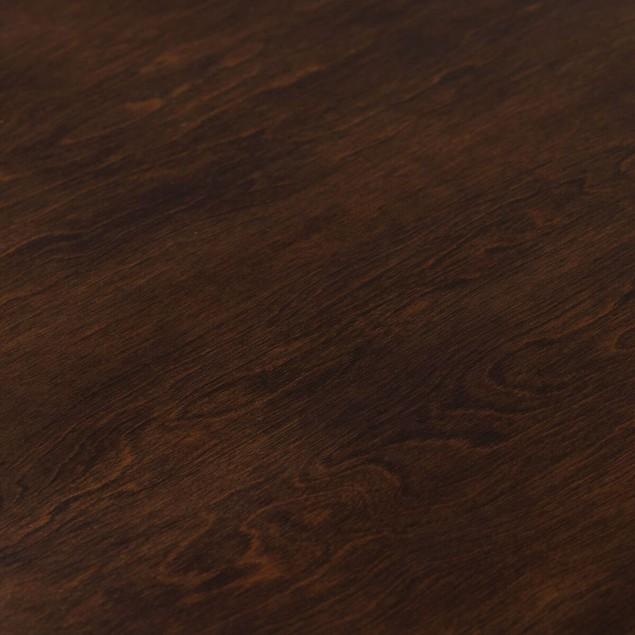 "Studio Designs Pergola 38"" Round Coffee Table Chrome / Java"