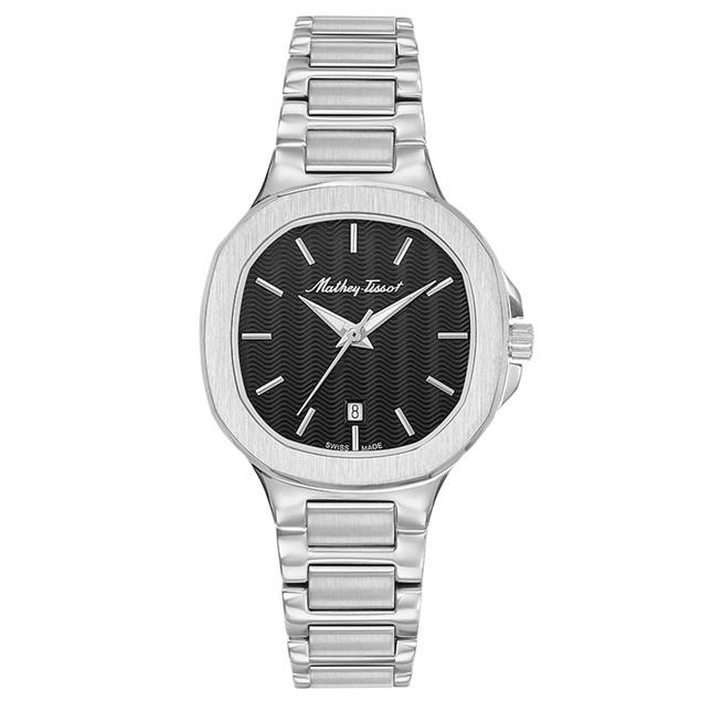 Mathey Tissot Women's Evasion Black Dial Watch - D152AN