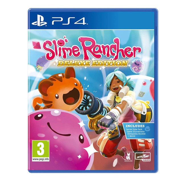 Slime Rancher Deluxe Edition PS4 Game