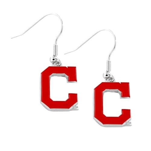 MLB Cleveland Indians Logo Dangle Earring