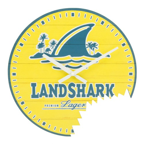 LandShark Bite Wall Clock