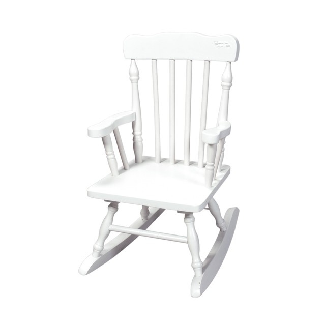 Gift Mark Childs Spindle Rocking Chair (White)