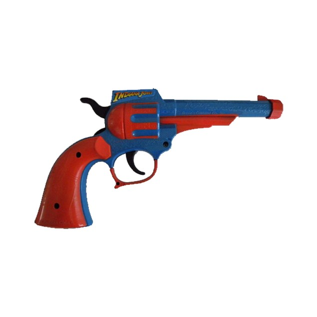 Indiana Jones Plastic Toy Gun Movie Costume Prop Gift Accessory Official