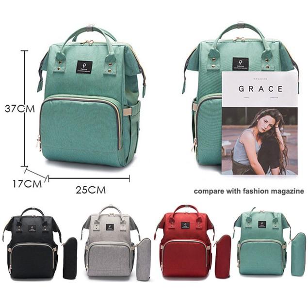 Baby Changing Bag Backpack Diaper Bag Multi-Function Large Capacity