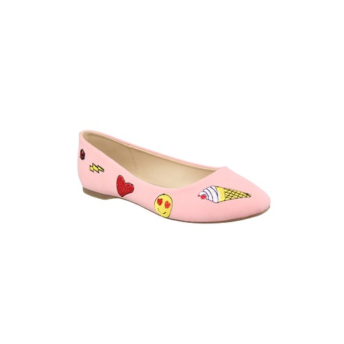 Adorable London Rag Women's Ballerina Shoes