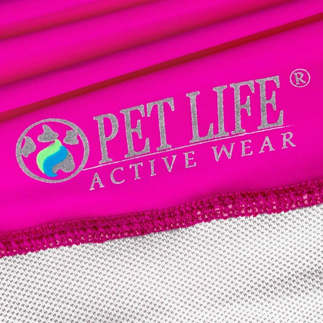 Pet Life Active 'Barko Pawlo' Relax-Stretch Performance Dog Polo T-Shirt