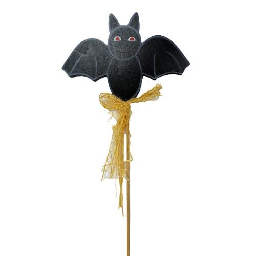 Homvare 6 pcs Bat Picks for Halloween Party Decorations