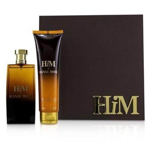 Hanae Mori Him Coffret: Eau De Toilette Spray 100ml/3.4oz + After Shave Balm 150ml/5oz