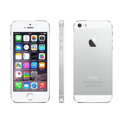 Apple iPhone 5s, AT&T, Silver, 32 GB, 4.0 in Screen