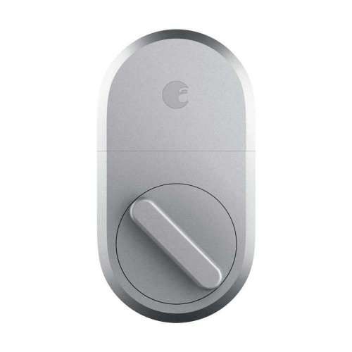 August Home AUG-3B Keyless 3rd Generation Technology Smart Lock - Silver