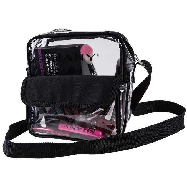 SHANY Clear All-Purpose Cross-Body Messenger Bag