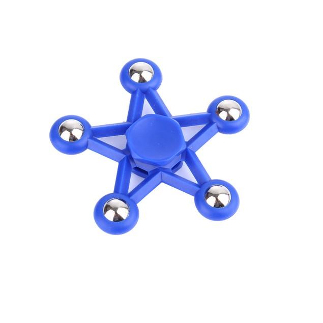 Five Star Fidget Toy Ceramic EDC Finger Spinner