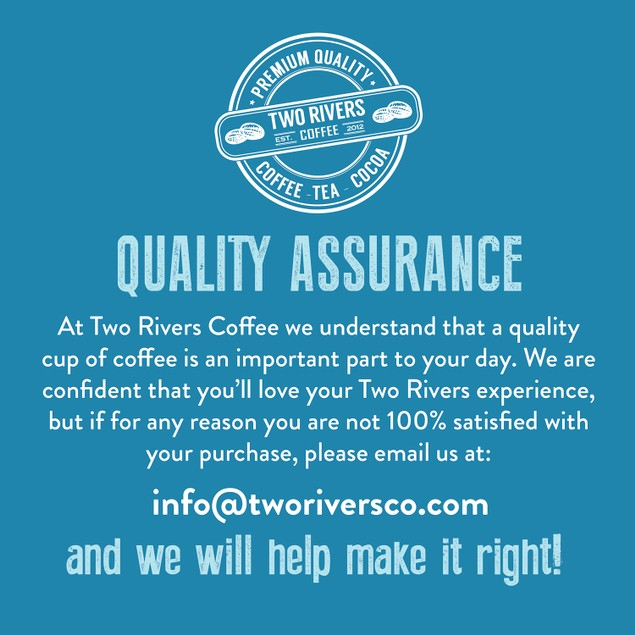 Two Rivers Coffee Pods for Keurig, Chocolate Lovers Coffee Variety - 40 count