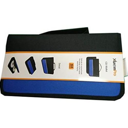 CD DVD VCD Blue-ray Nylon Zipper Wallet Case 64 Capacity
