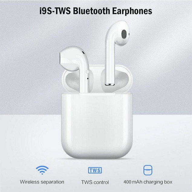 Wireless Headset Bluetooth Headphones Stereo Twin Earbuds