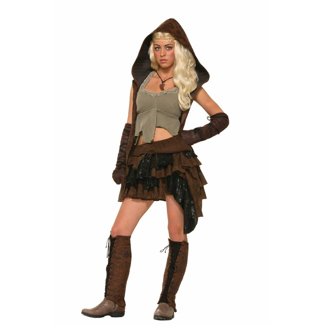 Medieval Rogue Warrior Costume