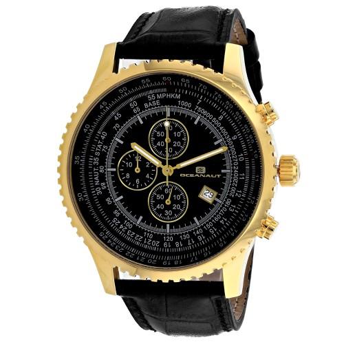 Oceanaut Men's Black Dial Watch - OC0316