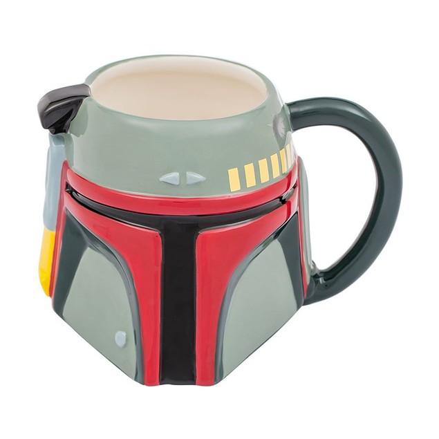 Star Wars Boba Fett 20 oz. Ceramic Sculpted Mug Coffee Cup Movie Fan