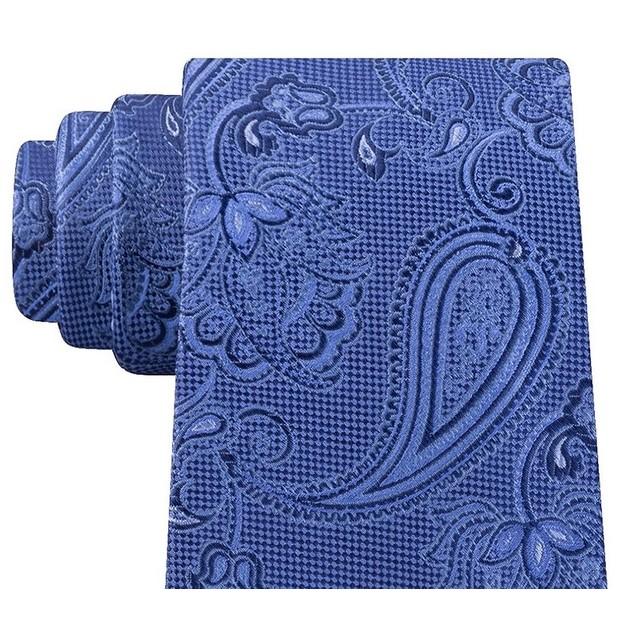 Michael Kors Men's Paisley Silk Neck Tie Bl ueSize Regular