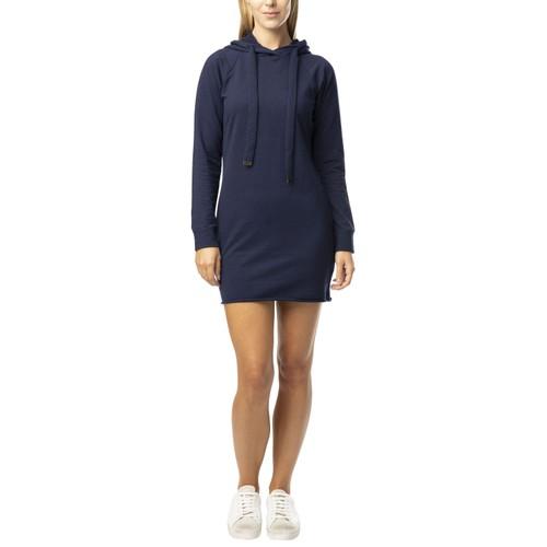 "Almost famous fleece ""Micro mini""  hoodie sweatshirt dress"