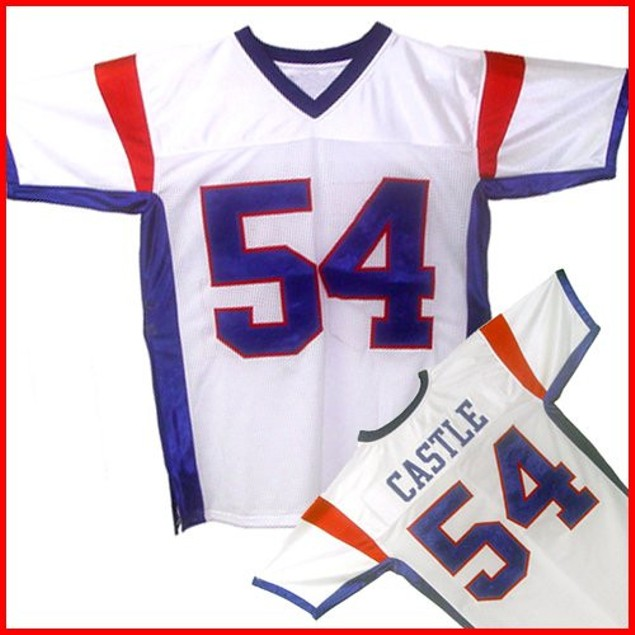 Thad Castle #54 White Football Jersey