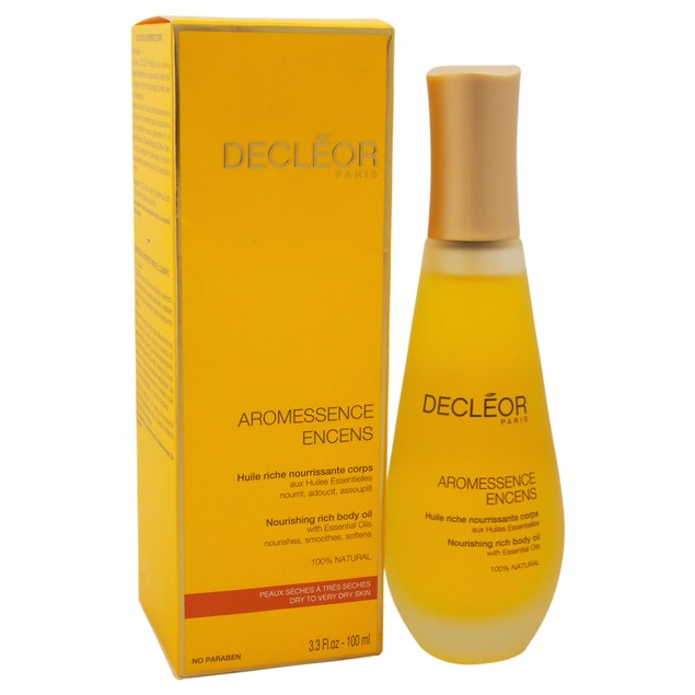 Aromessence Encens Nourishing Rich Body Oil Decleor 3.3oz