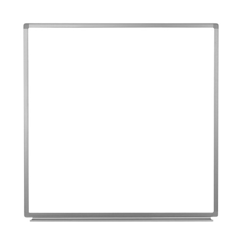 """Luxor 48"""" x 48"""" Wall - Mounted Magnetic Whiteboard"""
