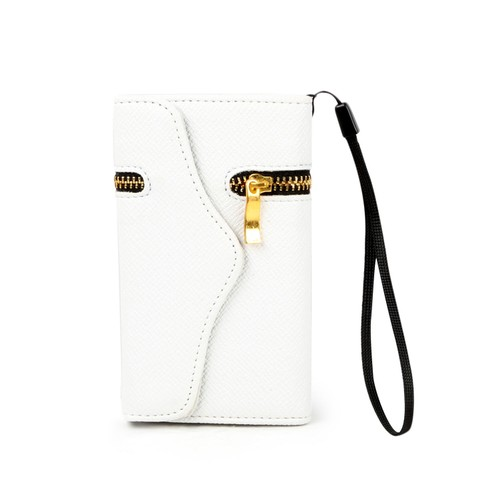 iPhone 4 Clutch Case Unique ZIPPER PU Leather