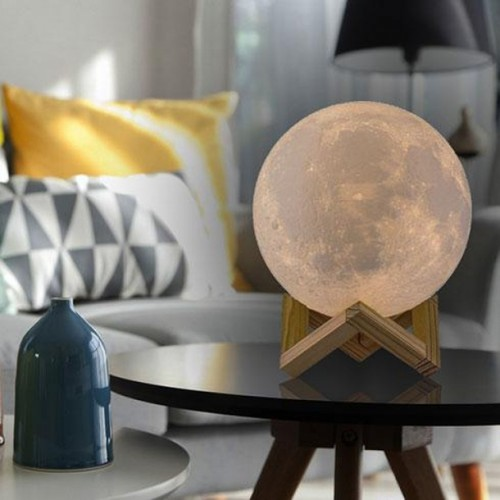 16 Color Moon Lamp with Stand and Wireless Remote